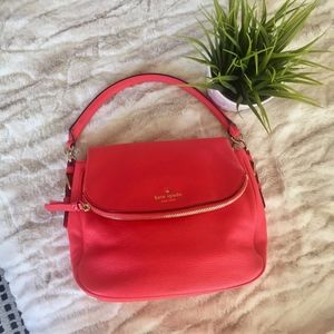 KATE SPADE Cobble Hill Devin Bag - Coral leather